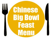 Chinese Big Bowl Feast Menu
